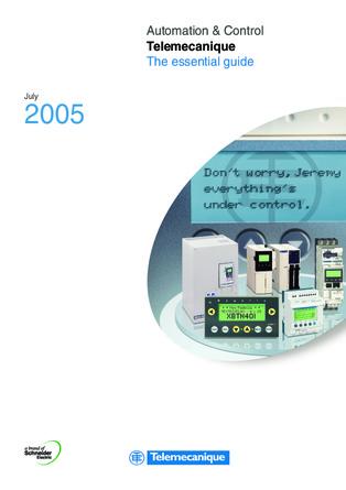 施耐德电气自动化与控制简明选型手册-2005-EN
